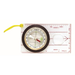 """Outdoor Products CAC003WM-ZZZ 2.4"""" X 4"""" X .6"""" Map Compass"""