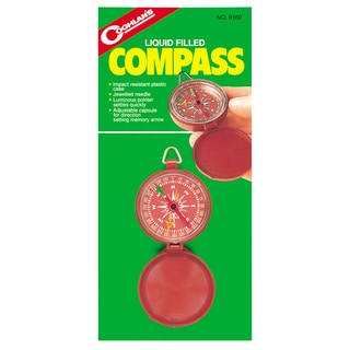 Coghlans 8160 Liquid Filled Pocket Compass