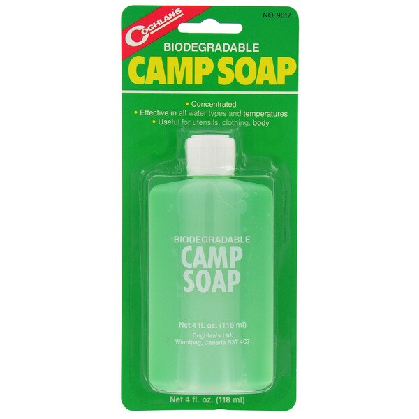 Coghlans 9617 4 Oz Biodegradable Camp Soap