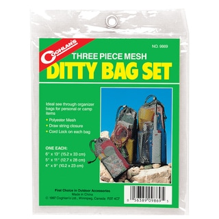 Coghlans 9869 Mesh Ditty Bag Set 3-count