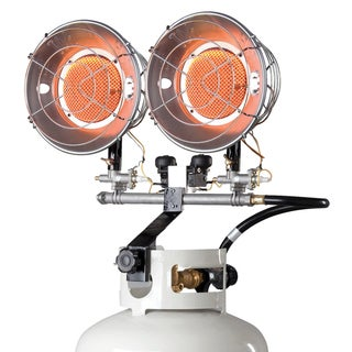 Mr Heater F242655 10,000 To 30,000 BTU Polished Chrome Propane Heater