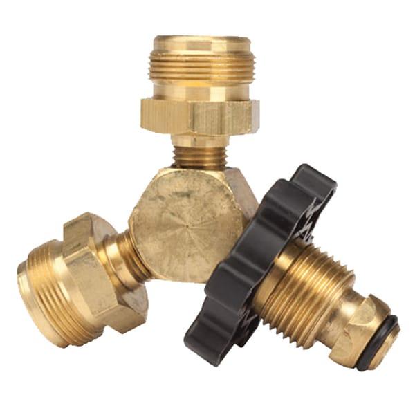 Mr Heater F271715 Propane Y Male Adapter With Handwheel