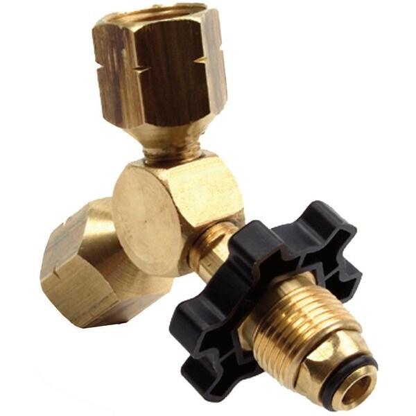 Mr Heater F271735 Propane Y Female Adapter With Handwheel