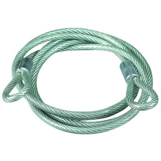 Master Lock 67D 6' Vinyl Coated Cable With Loop Ends