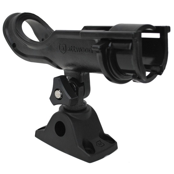 Attwood 5009-4 Black Heavy Duty Rod Holder