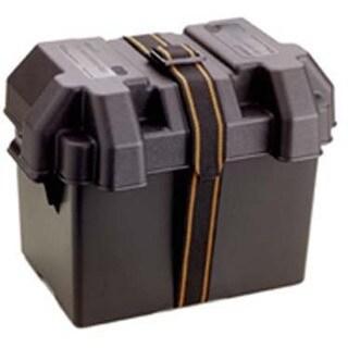"""Attwood 9065-1 14"""" X 9-5/8"""" X 10-5/8"""" Black Standard Battery Box"""
