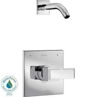 Delta Ara 1-Handle Shower Faucet Trim Kit in Chrome with Less Showerhead (Valve Not Included) T14267