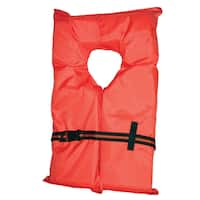 Kent Water Sports Large Orange Adult Type II Life Vest