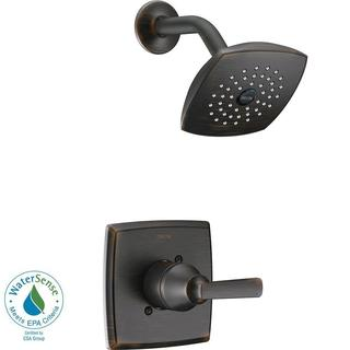Delta Ashlyn 1-Handle Pressure Balance Shower Faucet Trim Kit in Venetian Bronze (Valve Not Included) T14264-RB