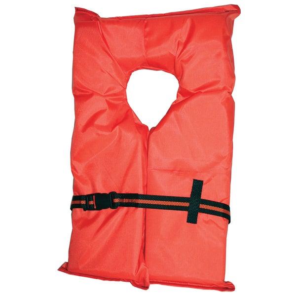 Kent Water Sports Extra Large Adult Orange Life Vest