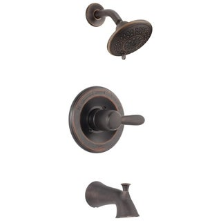 Delta Lahara 1-Handle Tub and Shower Faucet Trim Kit in Venetian Bronze (Valve Not Included) T14438-RB