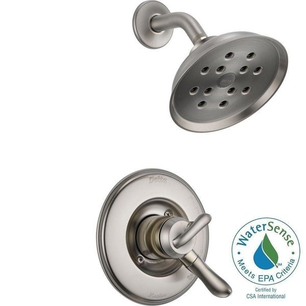 Delta Linden Monitor 17 Series H2okinetic Shower Trim T17294 Ss Stainless
