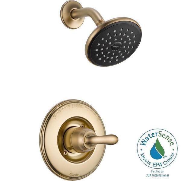 Delta Linden Monitor 14 Series Shower Trim T14294-CZ Champagne Bronze