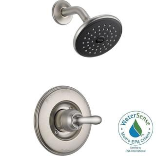 Delta Linden 1-Handle 1-Spray Shower Only Faucet Trim Kit in Stainless (Valve Not Included) T14294-S