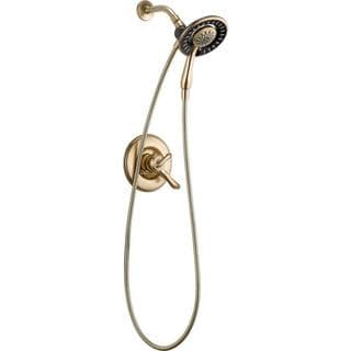 Delta Linden In2ition 1-Handle Shower Only Faucet Trim Kit in Champagne Bronze (Valve Not Included) T17294-CZ-I