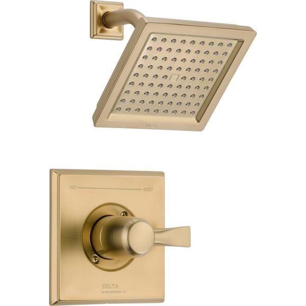 Shop Delta Dryden 1 Handle 1 Spray Raincan Shower Faucet