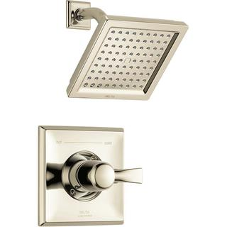 Delta Dryden 1-Handle 1-Spray Raincan Shower Faucet Trim Kit in Polished Nickel (Valve Not Included)