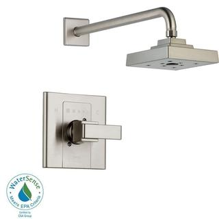 Delta Arzo 1-Handle 1-Spray Shower Faucet Trim Kit Only in Stainless (Valve Not Included) T14286-SS