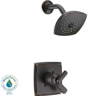 Delta Ashlyn 1-Handle Pressure Balance Shower Faucet Trim Kit in Venetian Bronze (Valve Not Included) T17264-RB