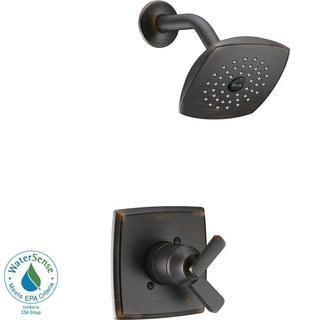 Delta Ashlyn 1-Handle Pressure Balance Shower Faucet Trim Kit in Venetian Bronze (Valve Not Included) T17264-RB