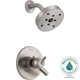 Delta Trinsic 1-Handle Shower Only Faucet Trim Kit in Stainless (Valve Not Included) T17259-SS