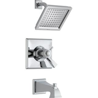 Delta Dryden TempAssure 17T Series 1-Handle Tub and Shower Faucet Trim Kit Only in Chrome (Valve Not