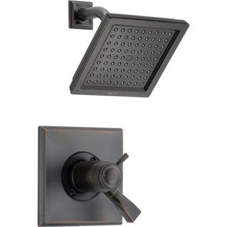 Delta Dryden TempAssure 17T Series 1-Handle Shower Faucet Trim Kit Only in Venetian Bronze (Valve Not Included) T17T251-RB
