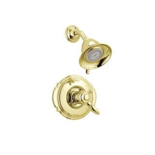 Delta Victorian 1-Handle Shower Only Faucet Trim Kit in Polished Brass (Valve Not Included) T17255-P