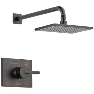 Delta Vero 1-Handle 1-Spray Raincan Shower Faucet Trim Kit in Venetian Bronze (Valve Not Included) T