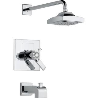 Delta Arzo TempAssure 17T Series 1-Handle Tub and Shower Faucet Trim Kit Only in Chrome (Valve Not Included) T17T486
