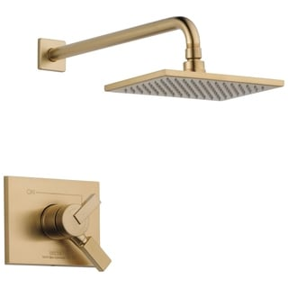 Delta Vero 1-Handle Shower Only Faucet Trim Kit in Champagne Bronze (Valve Not Included) T17253-CZ