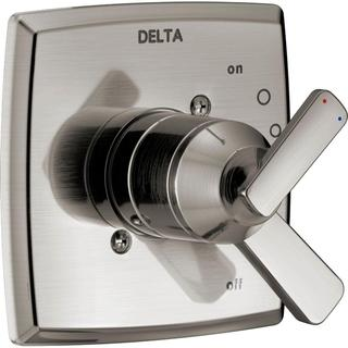 Delta Ashlyn 1-Handle Valve Trim Kit in Stainless (Valve Not Included) T17064-SS