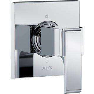 Delta Ara 1-Handle 6-Setting Custom Shower Diverter Valve Trim Kit in Chrome (Valve Not Included) T11967