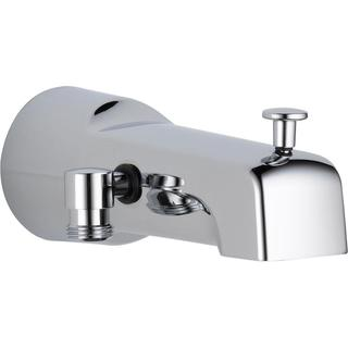 Delta 7.2 in. Long Pull-Up Diverter Tub Spout in Chrome U1010-PK