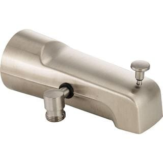 Delta Pull-Up Diverter Tub Spout in Stainless U1010-SS-PK