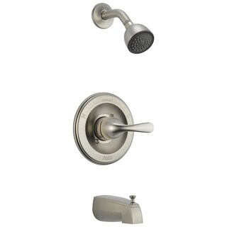 Delta Classic 1-Handle Tub and Shower Faucet Trim Kit in Stainless (Valve Not Included) T13420-SS