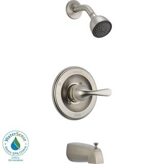 Delta Classic 1-Handle Slip On Spout Tub and Shower Faucet Trim Kit in Stainless (Valve Not Included) T13420-SSSOS