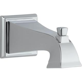 Delta Dryden 7-1/2 in. Non-Metallic Pull-Up Diverter Tub Spout in Chrome RP52148