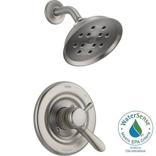 Delta Lahara 1-Handle H2Okinetic Shower Only Faucet Trim Kit in Stainless (Valve Not Included) T17238-SSH2O