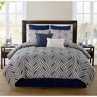 Jane Seymour Glendale Woven Jacquard 8-piece Comforter Set