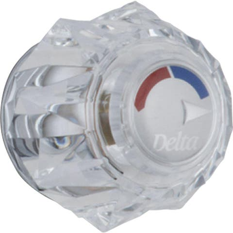 Delta Clear Knob Handle Kit - Tub & Shower