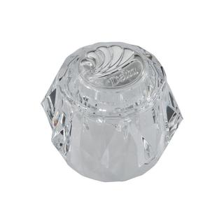 Delta Clear Knob Replacement Handle with Chrome Arrow Button for Tub and Shower Faucets RP17451