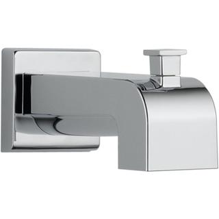 Delta Arzo and Vero 7-1/8 in. Pull-Up Diverter Tub Spout in Chrome RP53419