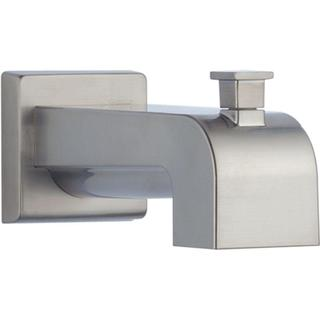 Delta Arzo and Vero 7-1/8 in. Pull-Up Diverter Tub Spout in Stainless RP53419SS