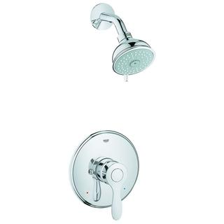 Grohe Parkfield Single Lever Handle 4-Spray Shower Faucet in StarLight Chrome