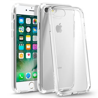 BasAcc Crystal Clear Hybrid Hard Full Body Case for Apple iPhone 6/ 6s/ 7