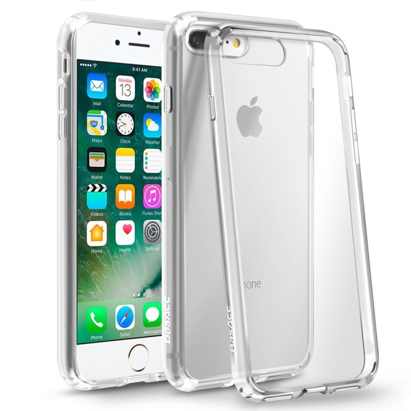 BasAcc Clear Hard Snap-on Crystal Case Cover For Apple iPhone 6 Plus/ 6s Plus/ 7 Plus