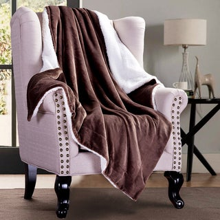 Sherpa Throw Blanket Plush Reversible Faux Fur Warm Cozy Bed Couch by Bedsure