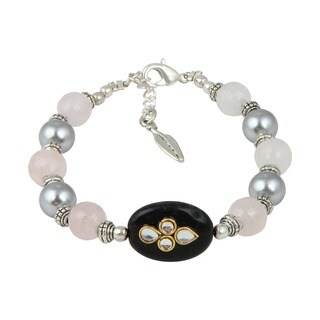 Pearlz Ocean Wonderful 7 Inches Cultured Freshwater Pearl Trendy Bracelet Jewelry for Women