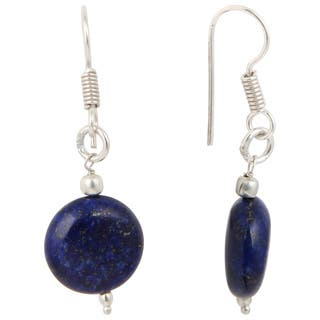Pearlz Ocean Dyed Lapis Lazuli Gemstone Beads Trendy Earrings Jewelry for Women|https://ak1.ostkcdn.com/images/products/12878445/P19638411.jpg?impolicy=medium
